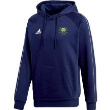 Woodvale Cricket Club Adidas Core 18 Hoody Dark Blue/White Adults 2020